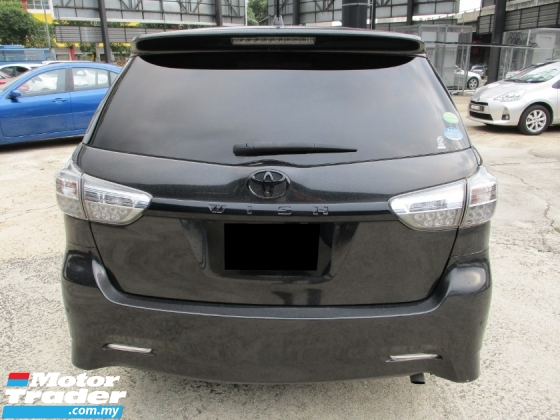 2014 TOYOTA WISH 1.8 S FACELIFT (A) FullSPec Sport Mode P/SHift