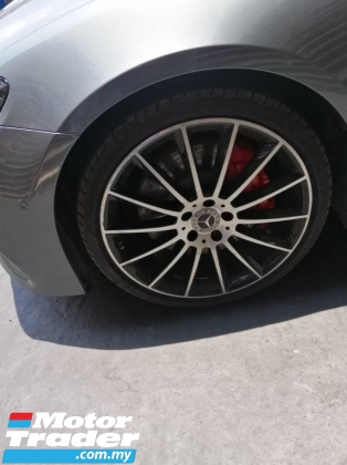 2017 MERCEDES-BENZ E-CLASS E300 AMG Premium PLUS Coupe Full Spec Digital Meter Multi Beam PRoof Memory Seat Keyless Entry Unreg