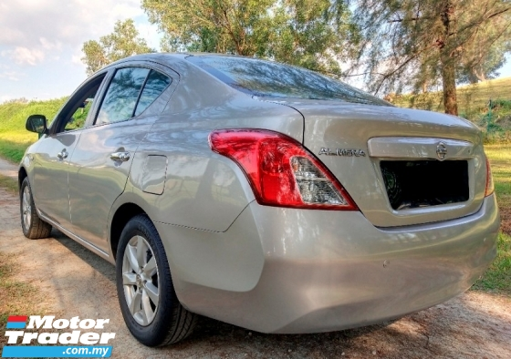 2012 NISSAN ALMERA 1.5V Loan Tinggi Satu Owner Kereta Jaga Tip Top