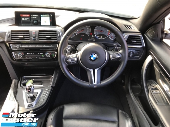 2017 BMW M4 3.0 COMPETITION CARBON PACKAGE UK NEW UNREG