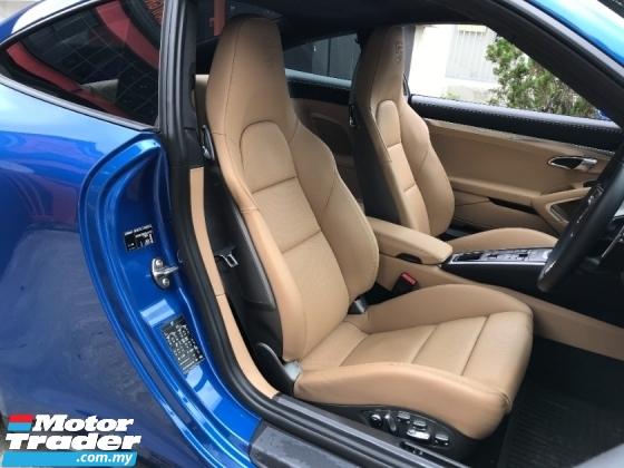 2017 PORSCHE 911 CARRERA 3.0 4S SPORT CHRONO PACKAGE HIGH SPEC GEUNINE MILEAGE 10XXX KM UK NEW UNREG