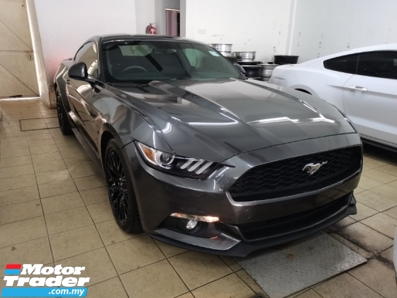 2017 FORD MUSTANG 2017 Ford Mustang 2.3 ECO BOOST (A) UNREG