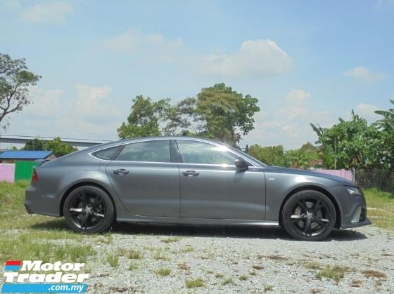 2012 AUDI A7 3.0 TFSI Quattro Hatchback S-LINE Facelift Keyless PushStart Powerboot BOSE LikeNEW