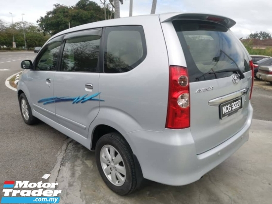 2009 TOYOTA AVANZA 1.5 G Facelift (A) Low Mileage