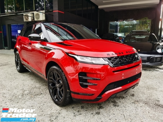 2019 LAND ROVER EVOQUE P250 R Dynamic