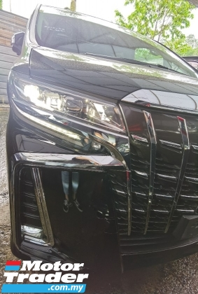 2020 TOYOTA ALPHARD 2.5 SC 3 LED FACELIFT ORI MILEAGE 6K KM PRE CRASH 2020 JAPAN UNREG FREE GMR WARRANTY