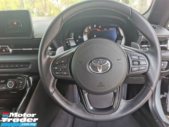 2020 TOYOTA SUPRA GR 3.0L Full Spec Silver Unit With Head Up Display