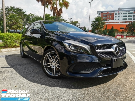2017 MERCEDES-BENZ A-CLASS A180 AMG 1.6 (A) UNREGISTERED 5 YEARS WARRANTY