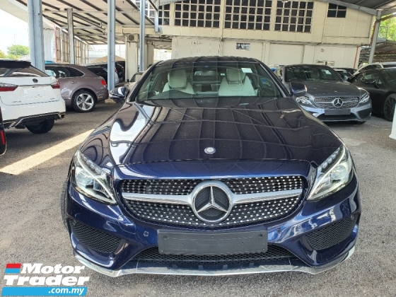 2017 MERCEDES-BENZ C-CLASS C200 2.0 (A) AMG COUPE  Driven 7K KM 2Y Warranty
