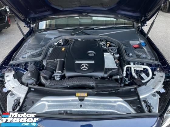 2017 MERCEDES-BENZ C-CLASS Unreg Mercedes Benz C200 2.0 AMG Sport Coupe Turbo Camera Paddle Shift Panaromic Roof Push Start