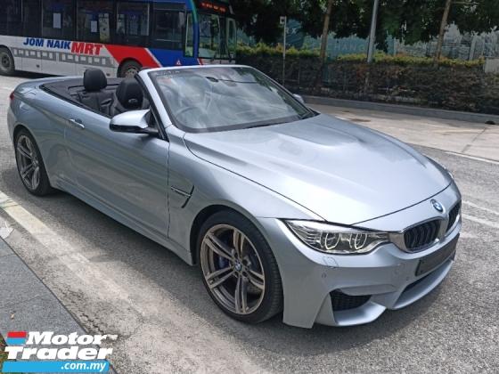 2016 BMW M4 HARD TOP CONVERTIBLE 3.0 Full Spec Unreg