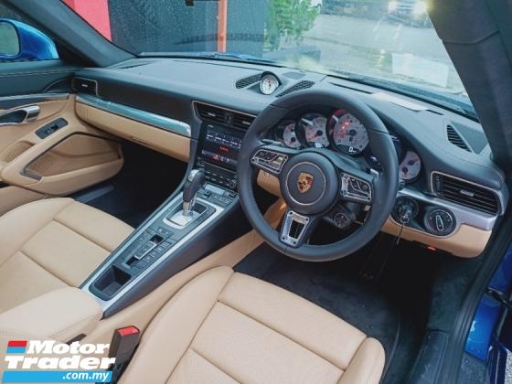 2017 PORSCHE 911 CARRERA 4S FULL SPEC 1 YEAR WARRANTY UNREG