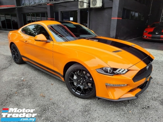 2020 FORD MUSTANG GT COUPE 2.3 Eco Boost New Facelift  Unregister