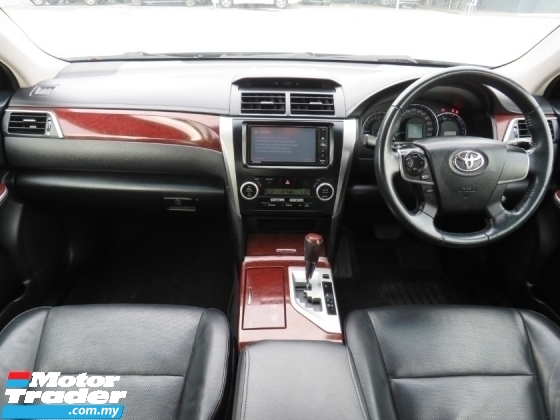 2015 TOYOTA CAMRY 2.0 (A) G NICE 2 DIGI NO PLATE 79 ONE OWNER H/LOAN