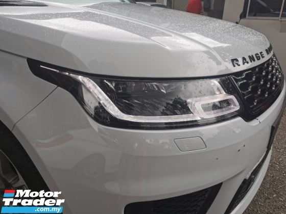2018 LAND ROVER RANGE ROVER SPORT 5.0 V8 SUPERCHARGED AUTOBIOGRAPHY