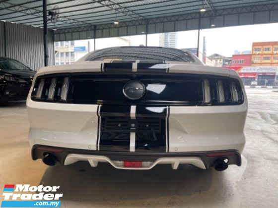 2018 FORD MUSTANG 2.3 ECOBOOST FAST BACK