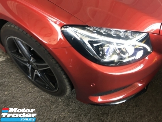 2017 MERCEDES-BENZ C-CLASS c300 Coupe 2.0 AMG GLASS ROOF 360 CAM B.S.S