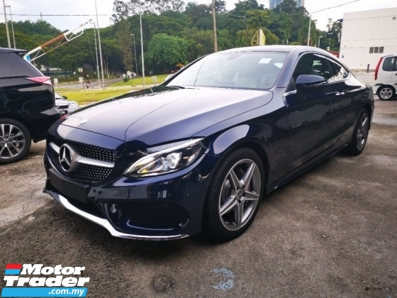 2017 MERCEDES-BENZ C-CLASS C200 Coupe AMG LIne Premium Recon 2 Yr Warranty