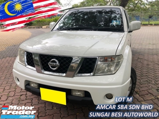 2013 NISSAN NAVARA 2.5L 4X4 SE ENHANCED (M) 6-SPEED HIGH 174PS