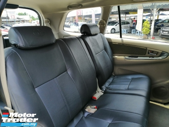 2014 TOYOTA INNOVA 2.0 E (A) Full Leather, Car World King G