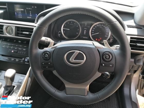 2014 LEXUS IS 250 2.5 Luxury YEAR MADE 2014 Mil 99k km Full Maintain Lexus Malaysia