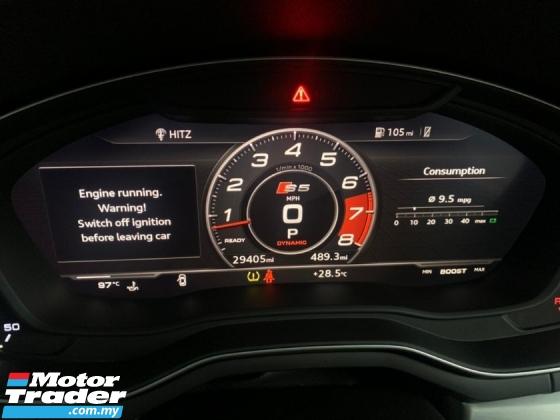 2017 AUDI S5 3.0 TFSI V6 Turbo Sportback UNREG 349bhp S-Tronic