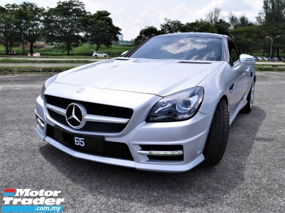 2011 MERCEDES-BENZ SLK 1.8 *TURBO*ELECTRIC STEEL ROOF*SPORT RIMS*