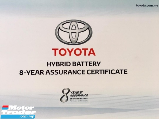 2015 TOYOTA CAMRY 2.5 HYBRID FACELIFT(A)F/SERVICES
