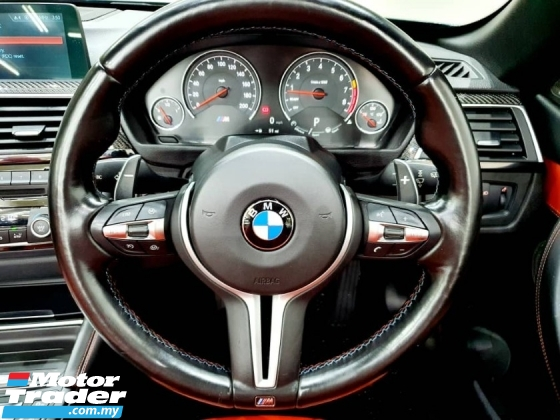 2017 BMW M4 COMPETITION CONVERTIBLE 3.0 DCT 450HP UNREG