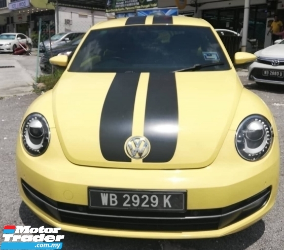 2014 VOLKSWAGEN BEETLE 1.2T BUG SPECIAL EDTION 2014 REG 2015 FULL SERVICE RECORD