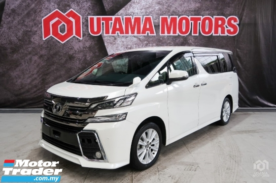 2017 TOYOTA VELLFIRE 2.5 Z 8 SEATER 2 POWER DOOR RAYA SALE SPECIAL