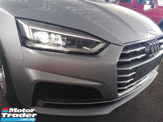 2018 AUDI A5 Unreg Audi A5 2.0 Turbo Facelift S Line Sport Push Start Paddle Shift