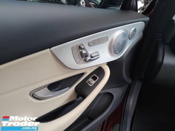 2017 MERCEDES-BENZ C-CLASS Unreg Mercedes Benz C300 AMG 2.0 Sport Panaromic Roof Led Light Push Start Paddle Shift Coupe Sport