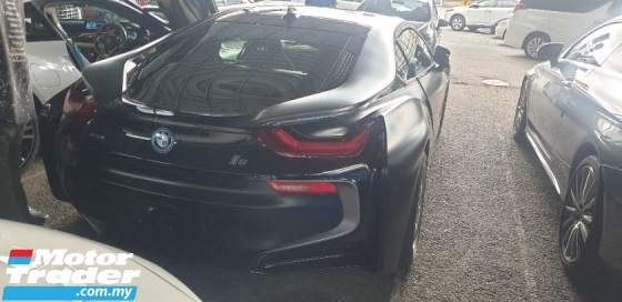 2018 BMW I8 PROTONIC FROZEN BLACK EDITION NO HIDDEN CHARGES