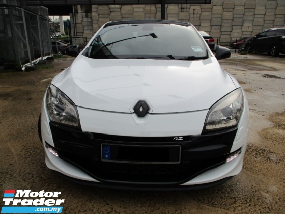 2013 RENAULT MEGANE RS250 CUP (M) Sport OriPaint Full/S/Record