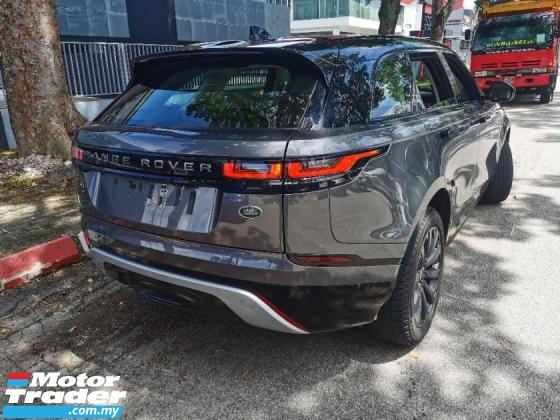 2018 LAND ROVER RANGE ROVER VELAR D180 R Dynamic Grey Unit And White Interior