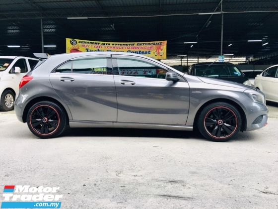 2013 MERCEDES-BENZ A-CLASS A180 1.6 (A) CONDITION LIKE NEW