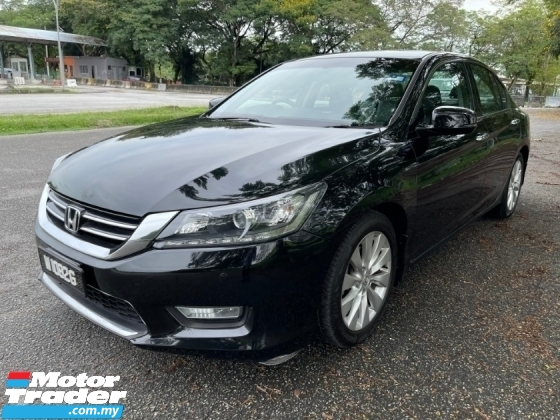 2014 HONDA ACCORD 2.0 VTi-L (A) 1 Owner Only TipTop Condition