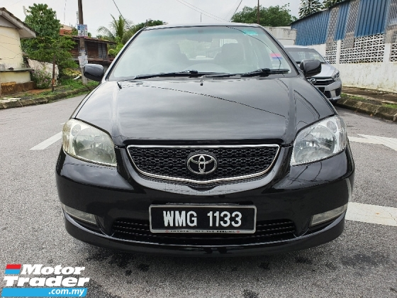 2004 TOYOTA VIOS 1.5 (A) Nice Number Plate AND good condition