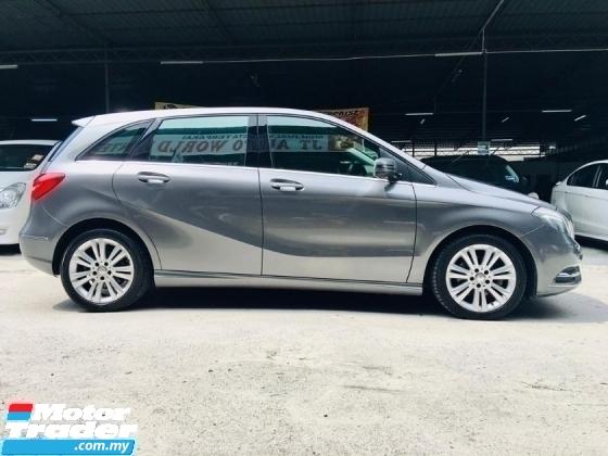 2014 MERCEDES-BENZ B-CLASS B200 BlueEFCY (A) CAR LIKE NEW