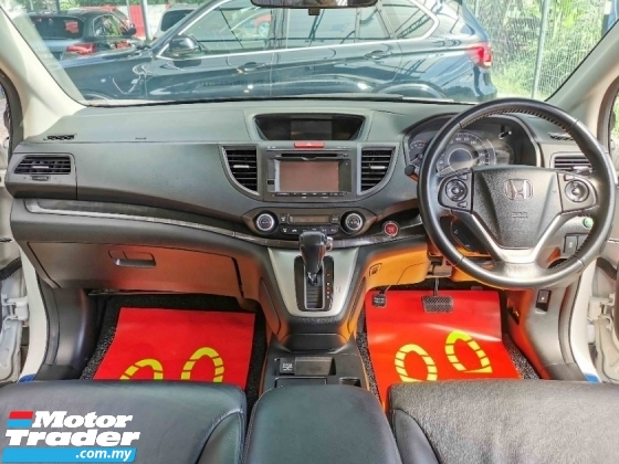 2014 HONDA CR-V Honda CR-V 2.4 4WD FACELIFT LEATHER KEYLESS WRRNTY