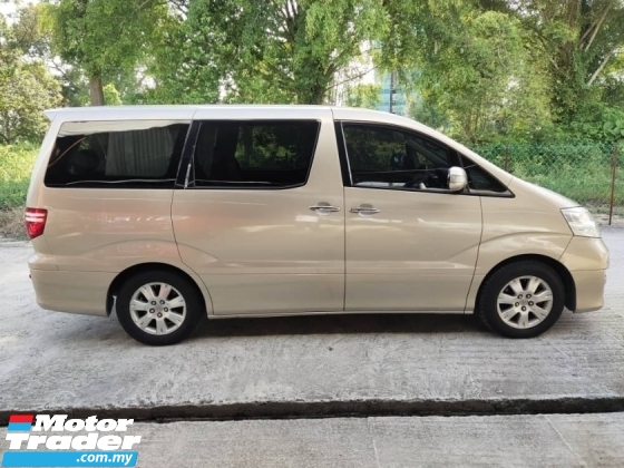 2005 TOYOTA ALPHARD 3.0 MZG EDITION AWD EXCELLENT CONDITION