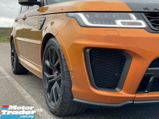 2018 LAND ROVER RANGE ROVER SPORT SVR 5.0 NEW FACELIFT / FULLY CARBON SPEC / DONT MISS OUT THIS TIME