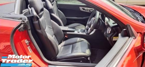 2013 MERCEDES-BENZ SLK SLK200 1.8 AMG(FREE 2 YEARS CAR WARRANTY) REG 2018