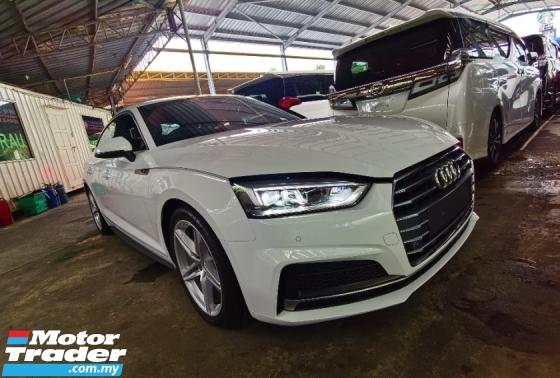 2018 AUDI A5 Audi A5 2.0 TFSI Quattro S Line Hatchback SPORTBACK NEW FACELIFT 2018 UNREG FREE GMR WARRANTY