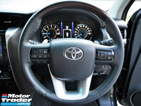 2017 TOYOTA FORTUNER 2.7 V TRD SPORTIVO [REAL MFG YEAR] TIP TOP COND