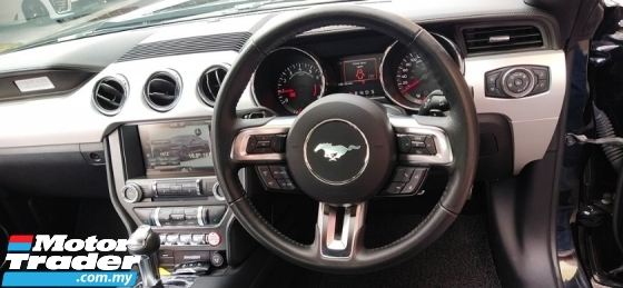 2017 FORD MUSTANG 2.3 ECOBOOST (A) 2017 UNREGISTERED, L/MILEAGE 35K