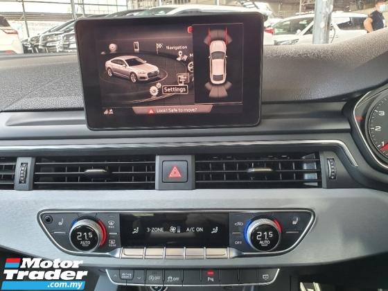2018 AUDI A5 2.0 SPORTBACK TFSI S-Line Unreg *MMi Drive Select