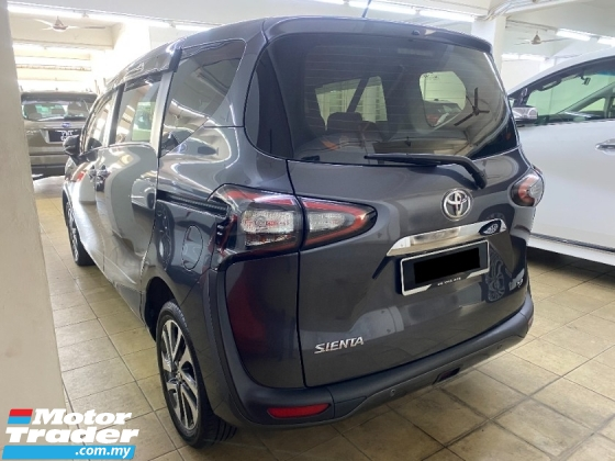 2017 TOYOTA SIENTA 1.5 V 28K KM Actual Year Make One Foreigner Owner