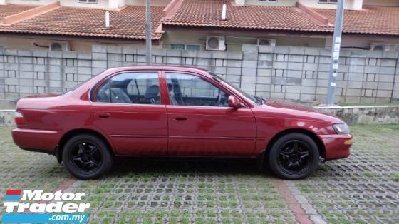 1995 TOYOTA COROLLA 1.6 SEG(Auto) Bawa x Rosak punya TOYOTA  AE101